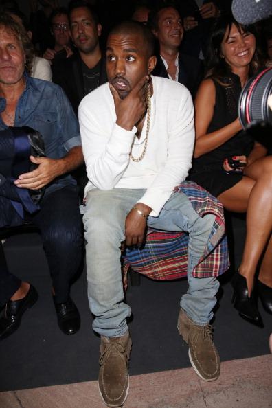 Kanye West - Musician「Diesel Black Gold - Front Row - Mercedes-Benz Fashion Week Spring 2014」:写真・画像(11)[壁紙.com]