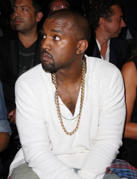 Kanye West - Musician「Diesel Black Gold - Front Row - Mercedes-Benz Fashion Week Spring 2014」:写真・画像(18)[壁紙.com]