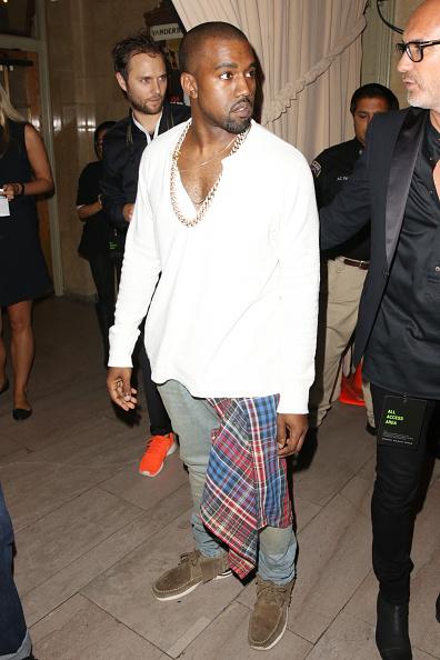 Kanye West - Musician「Diesel Black Gold - Front Row - Mercedes-Benz Fashion Week Spring 2014」:写真・画像(8)[壁紙.com]