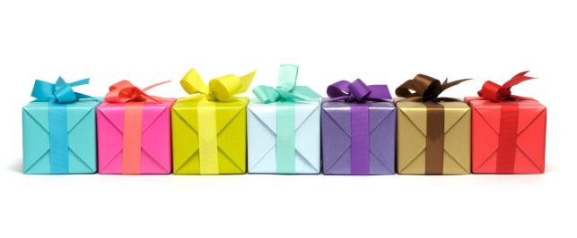 Christmas「Colourful gifts」:スマホ壁紙(15)