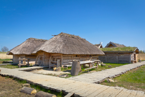 Chalet「Medieval settlement Slavs and Vikings, Wolin, Poland」:スマホ壁紙(6)