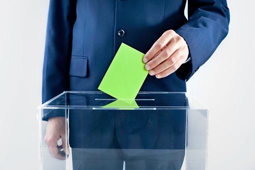 Voting Ballot「Vote Green!」:スマホ壁紙(9)