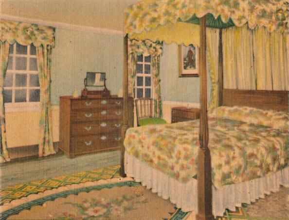 Four-Poster Bed「The Lafayette Bedroom」:写真・画像(7)[壁紙.com]