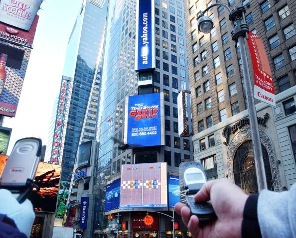 Wireless Technology「Yahoo Interactive Billboard In New York City」:写真・画像(3)[壁紙.com]