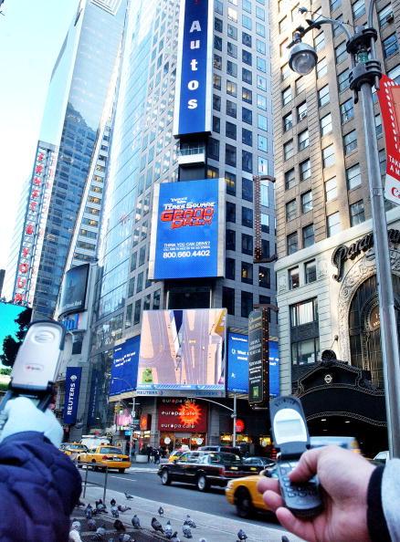 Wireless Technology「Yahoo Interactive Billboard In New York City」:写真・画像(4)[壁紙.com]