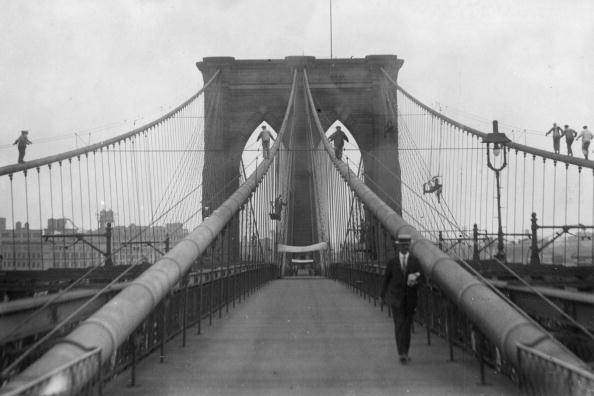 Brooklyn Bridge「Brooklyn Bridge」:写真・画像(8)[壁紙.com]