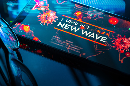 Rock Music「COVID-19 New Wave」:スマホ壁紙(6)