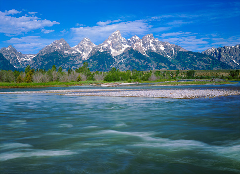 Steep「Spring In The Grand Teton National Park」:スマホ壁紙(2)
