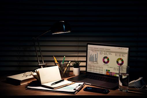 Desk Lamp「The desk of the night light」:スマホ壁紙(8)