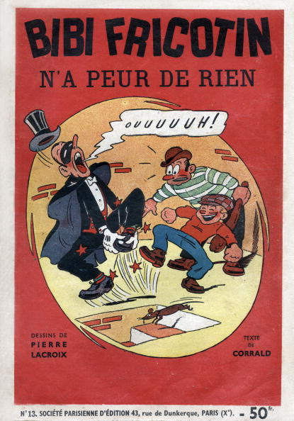 Cartoon「Cover of cartoon Bibi Fricotin, drawing by Pierre Lacroix, text by Corrald, 1947」:写真・画像(17)[壁紙.com]
