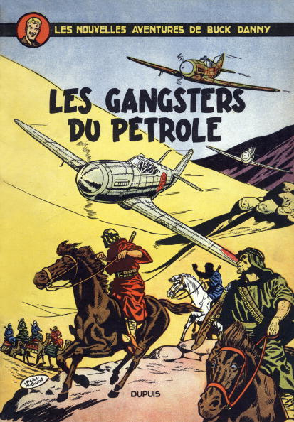 Cartoon「Cover of cartoon Adventures of Buck Danny by Jean-Michel Charlier and Victor Hubinon, 1953」:写真・画像(5)[壁紙.com]