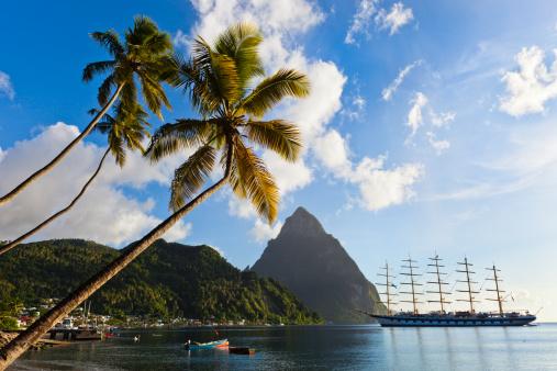 Petit Piton「Soufrière Bay, Saint Lucia」:スマホ壁紙(18)