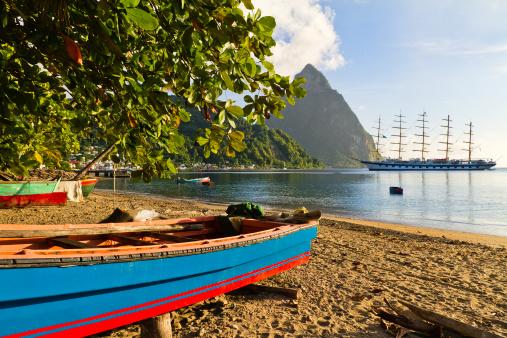 Petit Piton「Soufrière Bay, Saint Lucia」:スマホ壁紙(15)