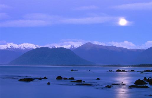 Mt Aspiring「Mt Aspiring, as seen from Jackson Bay.」:スマホ壁紙(11)