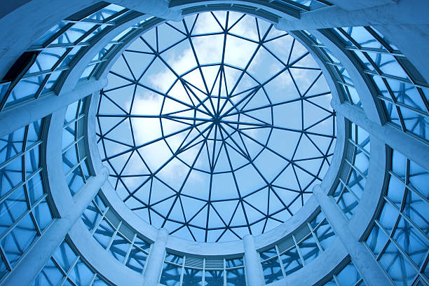 Dome with glass ceiling background:スマホ壁紙(壁紙.com)