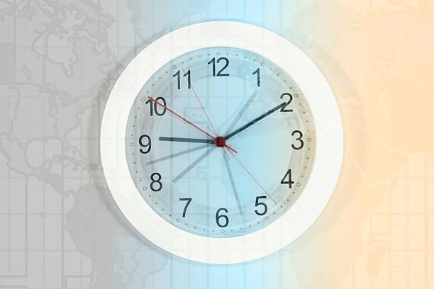 Clock and atlas:スマホ壁紙(壁紙.com)