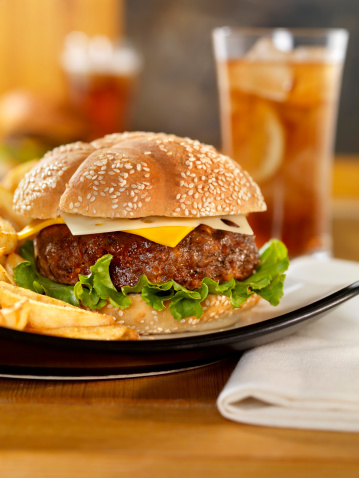 Ice Tea「Cheeseburger with Iced Tea and Fries」:スマホ壁紙(4)
