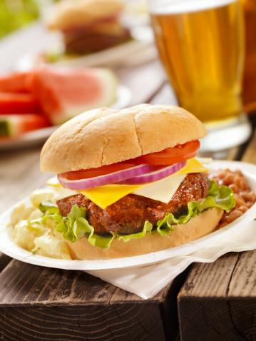 Picnic「Cheeseburger and a Beer」:スマホ壁紙(10)
