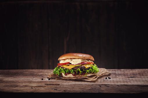 Hamburger「Cheeseburger」:スマホ壁紙(1)