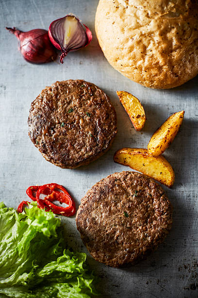 Cheeseburger and potato wedges:スマホ壁紙(壁紙.com)
