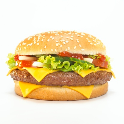 Hamburger「Cheeseburger, close-up」:スマホ壁紙(8)