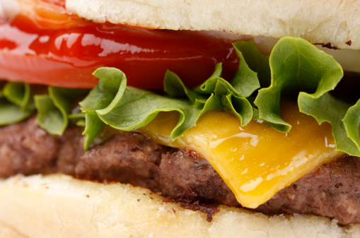 Bun - Bread「Cheeseburger Close-Up」:スマホ壁紙(4)