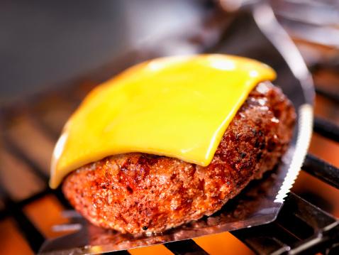Barbecue Grill「Cheeseburger on BBQ」:スマホ壁紙(8)