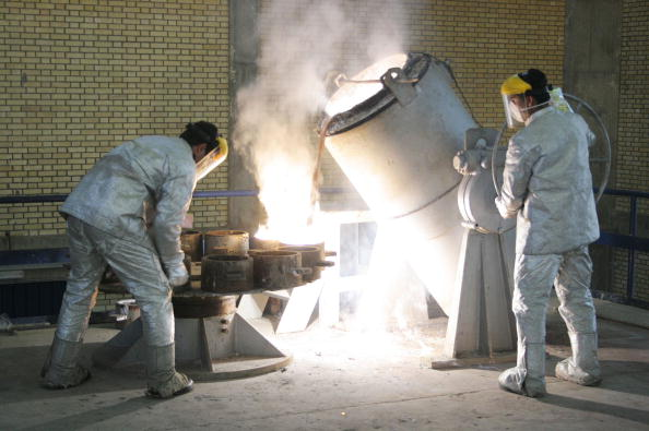Metallic「Iranian President Tours Nuclear Facilities」:写真・画像(5)[壁紙.com]