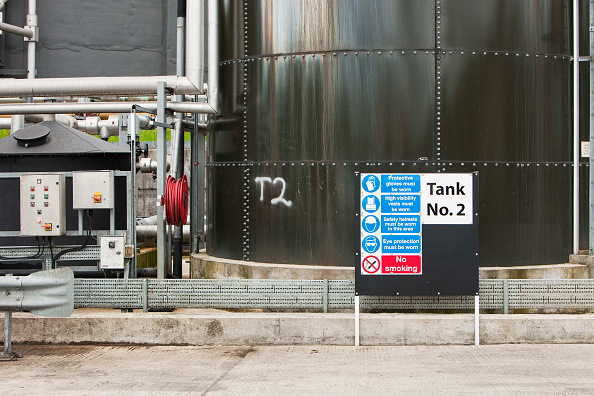 Greenhouse Gas「Biodigesters at United Utilities Daveyhulme plant which process's all of Manchester sewage and deals with 714 million litres a day. The sewage sludge from the plant is put in huge biodigesters which produce biogas from the human waste. This biogas is 70%」:写真・画像(15)[壁紙.com]