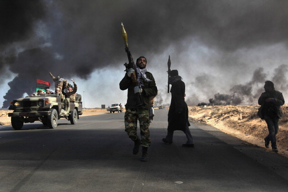 Conflict「Opposition Rebels Battle Gaddafi Forces In Eastern Libya」:写真・画像(4)[壁紙.com]