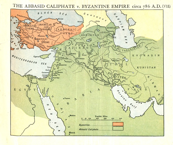 Middle East「The Abbasid Caliphate V Byzantine Empire」:写真・画像(1)[壁紙.com]