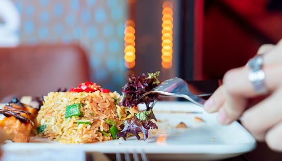 Basmati Rice「Close-up eating Paella rice」:スマホ壁紙(12)
