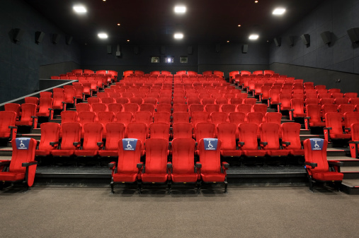 Accessibility for Persons with Disabilities「Red theatre seats」:スマホ壁紙(4)
