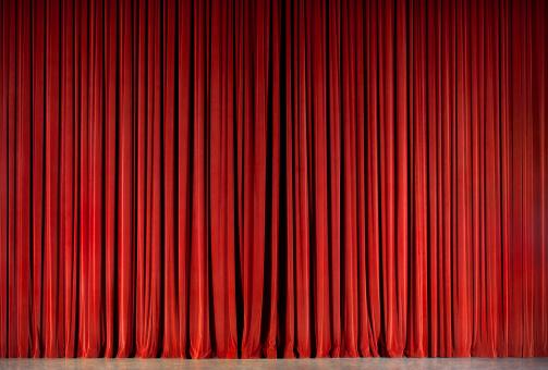 Curtain「red theatre curtain」:スマホ壁紙(13)
