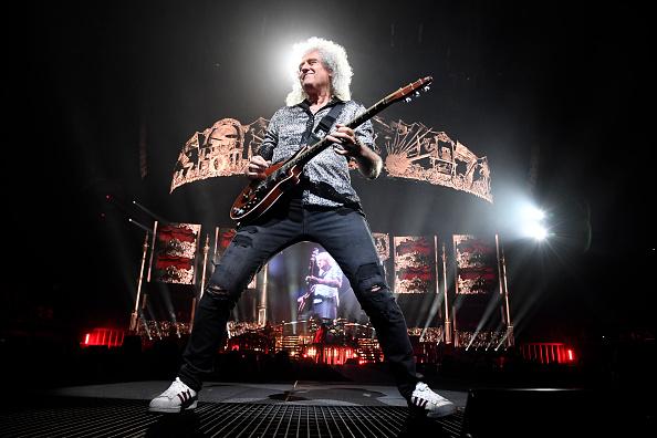 Brian May「Queen In Concert - Los Angeles, CA」:写真・画像(17)[壁紙.com]
