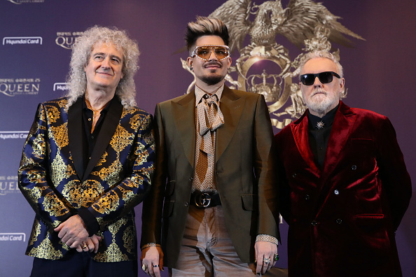 Brian May「Queen Holds Press Conference In Seoul」:写真・画像(16)[壁紙.com]