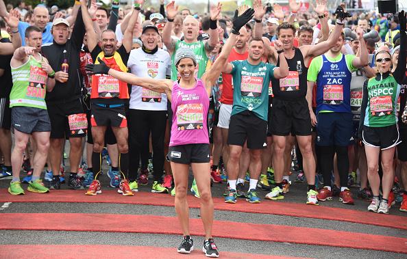 Kelly public「Celebrities Participate In The Virgin London Marathon」:写真・画像(15)[壁紙.com]