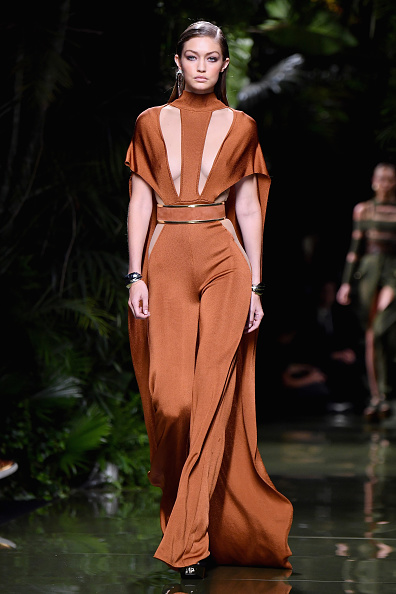 Jumpsuit「Balmain : Runway - Paris Fashion Week Womenswear Spring/Summer 2017」:写真・画像(8)[壁紙.com]