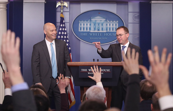 Opportunity「Marc Short And Mick Mulvaney Hold Briefing On Possible Government Shutdown」:写真・画像(7)[壁紙.com]