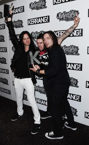 Leather Jacket「The Relentless Energy Drink Kerrang! Awards 2010 - Media Room」:写真・画像(5)[壁紙.com]