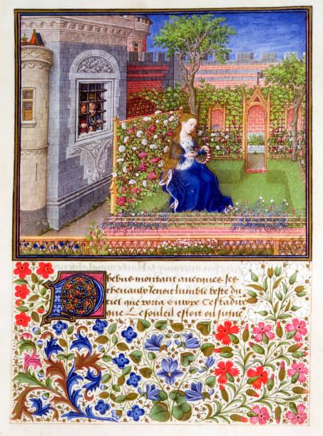 The Prisoners Listening To Emily Singing In The Garden 1340-1341:ニュース(壁紙.com)