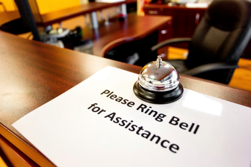 Sales Occupation「Ring bell for service sign in a Business office」:スマホ壁紙(14)