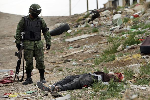 Murder「Mexican Drug War Fuels Violence In Juarez」:写真・画像(7)[壁紙.com]