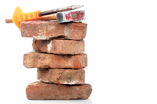Chisel「Red Brick, Hammer and Chisel」:スマホ壁紙(5)