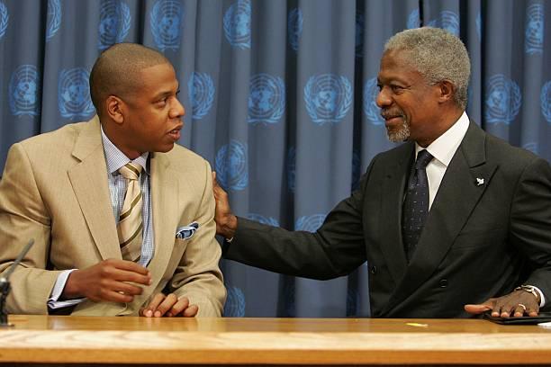 UN Secretary General Kofi Annan Announces Collaboration With MTV & Def Jam:ニュース(壁紙.com)