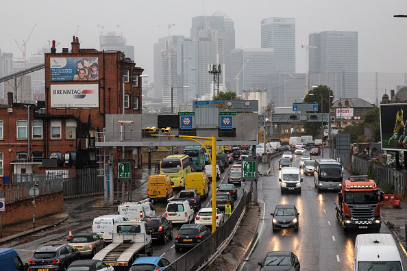 Pollution「Morning Rush Hour Traffic In London」:写真・画像(12)[壁紙.com]