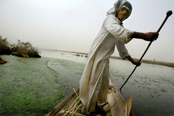 Middle Eastern Ethnicity「Marsh Arabs Cling To Life In Iraq」:写真・画像(18)[壁紙.com]
