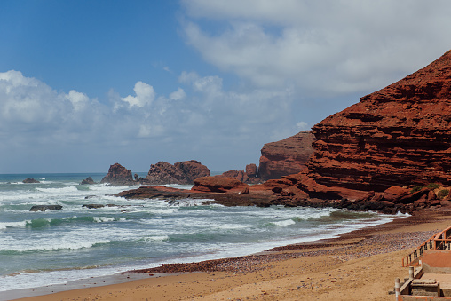 Morocco「Legzira Beach, Sidi Ifni, Souss-Massa-Draa, Morocco」:スマホ壁紙(6)