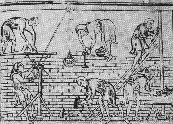 Construction Worker「Medieval Wall」:写真・画像(11)[壁紙.com]