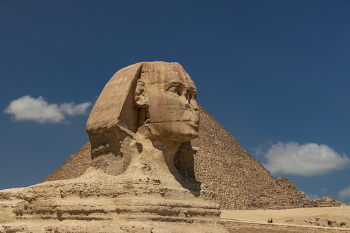 Ancient Egyptian Culture「The Sphinx and the Giza Pyramids, Cairo, Egypt」:スマホ壁紙(12)